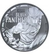 Срібна монета 1oz Чорна Пантера 1 долар 2018 Тувалу