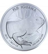 Серебряная монета 1oz Игуана 1 доллар 2015 Фиджи