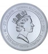 Серебряная монета 1oz Гинея 1 фунт стерлингов Остров Святой Елены 2019