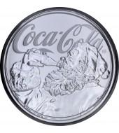 Срібна монета 1oz Coca Cola 1 долар 2019 Фіджі