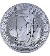 Срібна монета 1oz Британія 2 англійських фунта 2020 Великобританія