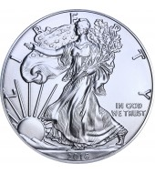 Срібна монета 1oz Американський Орел 1 долар 2016 США