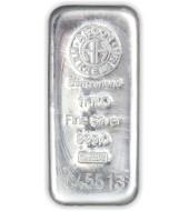 Срібний зливок 1000 грам 999 Fine Silver 1Kilo Argor-Heraeus