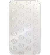 Срібний зливок 100 грам 999 Fine Silver Argor-Heraeus