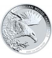 Серебряная монета 1oz Клинохвостый Орел 1 доллар 2020 Австралия