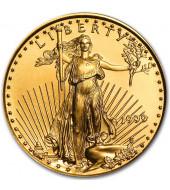 Золотая монета 1/4oz Американский Орел 10 долларов 1999 США
