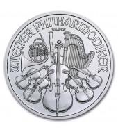 Срібна монета 1oz Віденська Філармонія 1,5 Євро 2012 Австрія