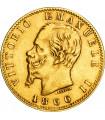 Золота монета Віктор Еммануіл II 20 лір 1866 Італія